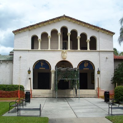 Annie Russell Theatre, on the Rollins College campus in Winter Park, Florida