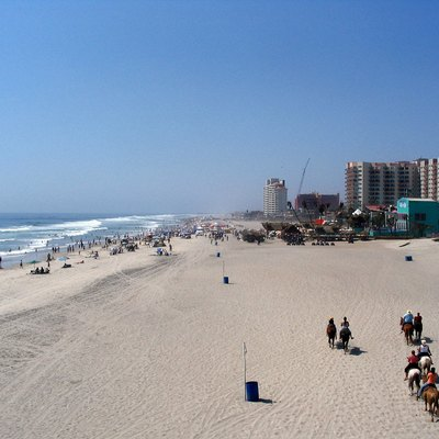 Rosarito Beach in Baja California.
