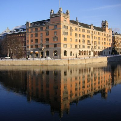 Rosenbad, In Central Stockholm, Has Been The Seat Of The Government Since 1981.[106]