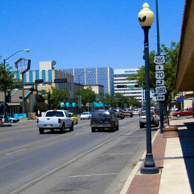 Main Street in Roswell, New Mexico, USA