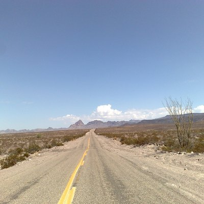 Route 66 - Road to Oatman.