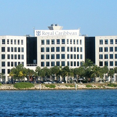 The headquarters of Royal Caribbean International in Miami.