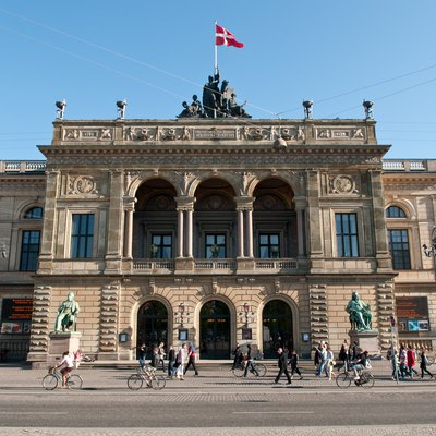 Royal Danish Theatre in Copenhagen, Denmark