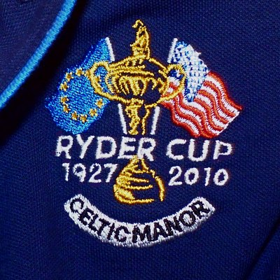 The official logo of 2010 Ryder Cup