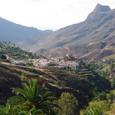 View of Fataga, Gran Canaria