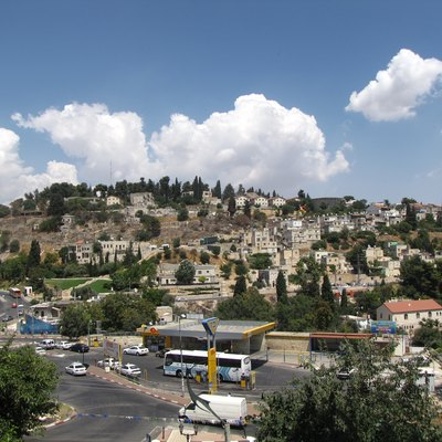 Safed city in July 2009.
