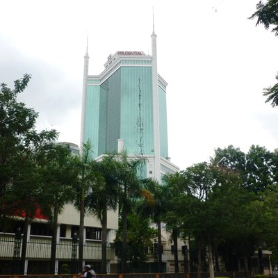 Saigon Trade Center, One Of The First Skyscrapers To Be Built In Ho Chi Minh City After The Doi Moi Reforms.