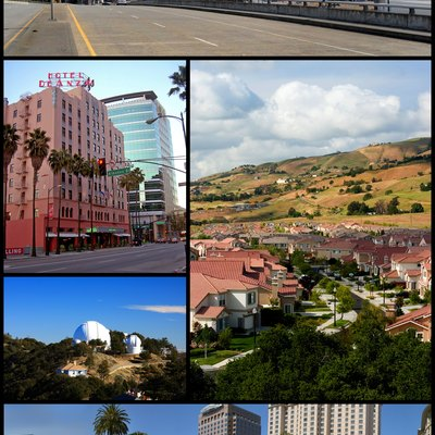 Montage of San Jose, California pictures.