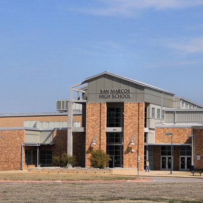 San Marcos High School In San Marcos, Texas, United States.