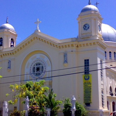 The San Diego Pro-cathedral in Silay City, Negros Occidental, Philippines.