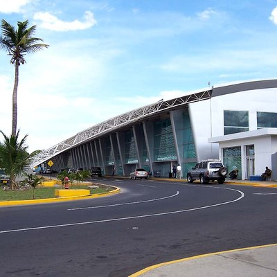 The Augusto Sandino International Airport in Managua. Took this picture before my flight in May, heading to Bluefields.