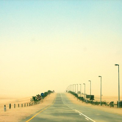 The B2 between Swakopmund and Walvis Bay, Namibia.