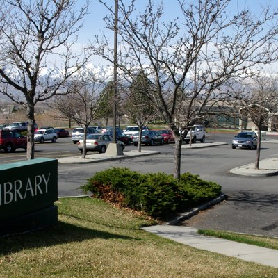 Sandy Library, part of the Salt Lake County library system.