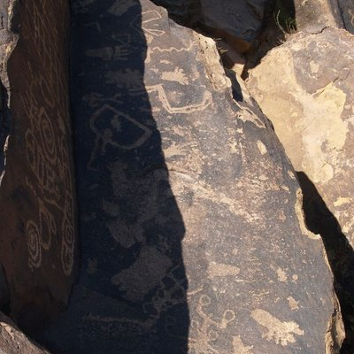 This group of petroglyphs is just one of over 200 found in the Santa Clara River Reserve, west of St. George, Utah.