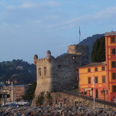 The Castello (XV century) in Santa Margherita Ligure (GE) Italy