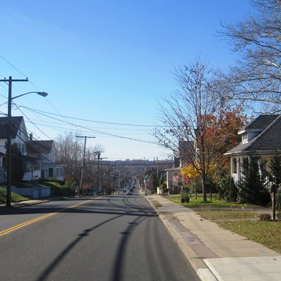 Photo of Sayreville, New Jersey taken along southbound Washington Road (County Route 535) at French Street.