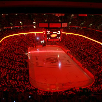 Ottawa lost against Buffalo and they got eliminated from the playoffs. The ambiance at the Bank was just incredible!