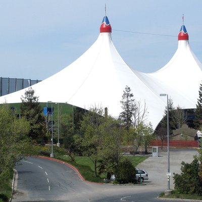 Shoreline Amphitheatre In Mountain View.