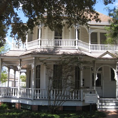 The Sidbury House in Corpus Christi, Texas.