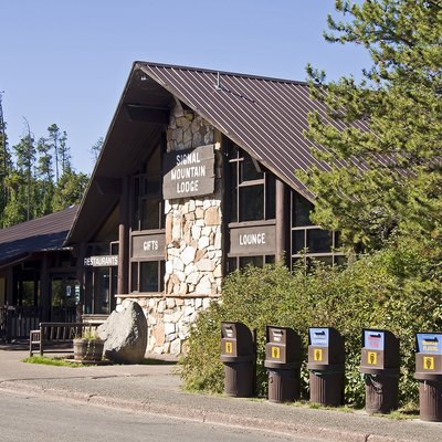 Signal Mountain Lodge at Grand Teton National Park, Wyoming, USA