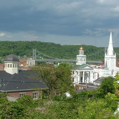 The Skyline of Maysville in 2007.