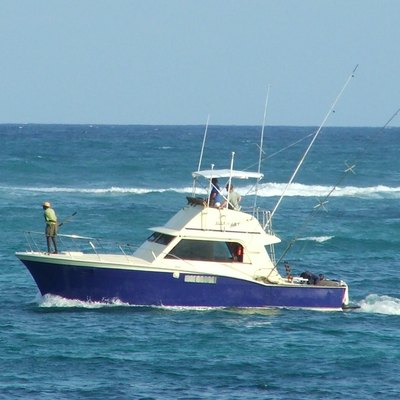Small sport fishing boat (AlleyCat)