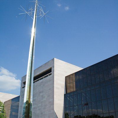 National Air And Space Museum Of The Smithsonian Institution, Washington, Dc. Architect: Gyo Obata.