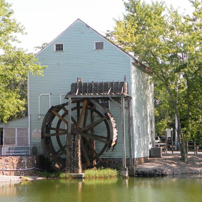 Oliphant Grist Mill in Smithville, Atlantic County, New Jersey.