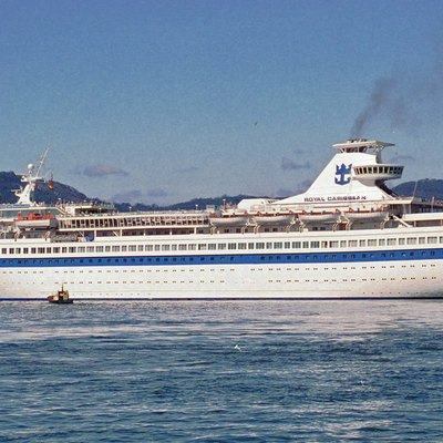 Ms Song Of Norway Leaving Vigo, Spain On 19 September 1994.