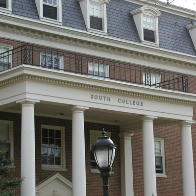 The South College building at Lafayette College in Easton, Pennsylvania, United States. This building is currently being used as a dormitory [1].