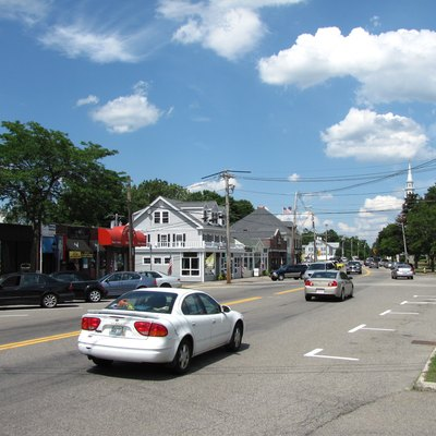 South Street, Wrentham Massachusetts, June 2010