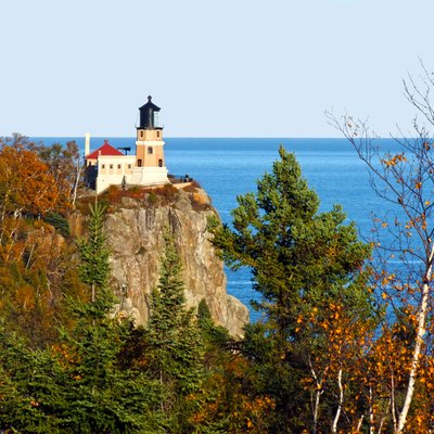 Split Rock Lighthouse — Located Along The North Shore Of Lake Superior, Near Two Harbors, Minnesota.