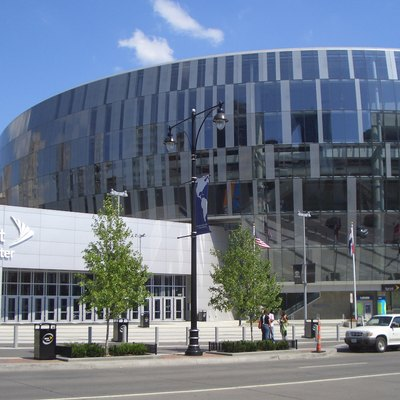 Sprint Center (arena and entrance), Kansas City, Missouri