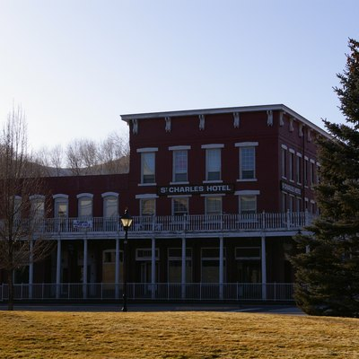 St. Charles Hotel, one of the oldest structures in Carson City