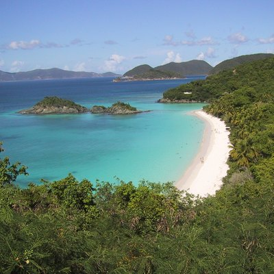 Trunk Bay — On St. John Island And In Virgin Islands National Park, U.S. Virgin Islands