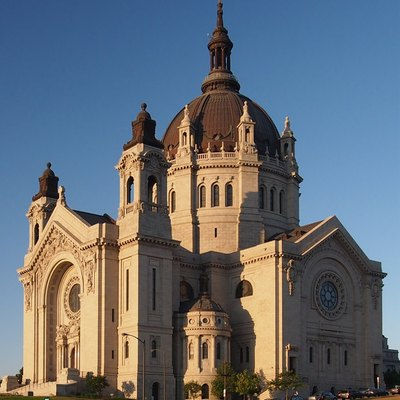 Saint Paul Cathedral, St Paul, Minnesota, Usa