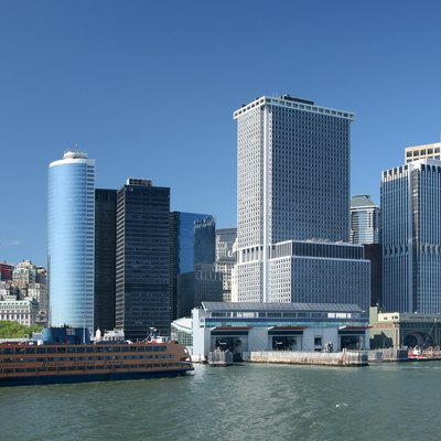The Staten Island Ferry Terminal is located in Lower Manhattan