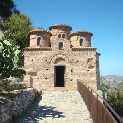 The Cattolica di Stilo is a Byzantine church in the comune of Stilo, Calabria, southern Italy. It is a national monument.