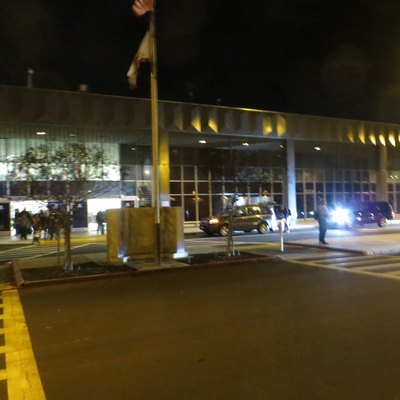 Terminal of Stockton Airport, California (SCK)