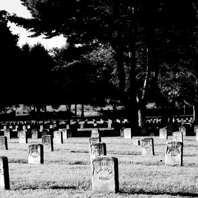 Stones River National Cemetery in Murfreesboro, Tennessee.
