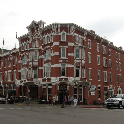 The Strater Hotel, built by Henry Strater in 1887, Durango, Colorado.