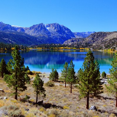 Stunning June Lake in the Fall