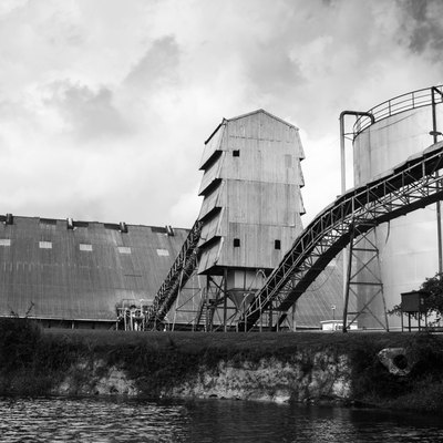 Sugar Cane Processing Plant, Orange Walk Town, Belize
