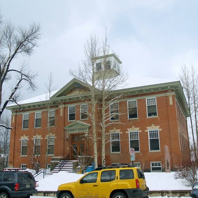 Summit County Court House In Breckenridge, Colorado.