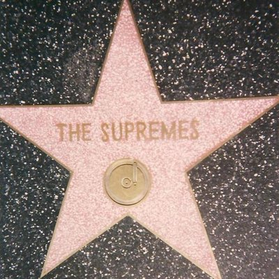 The Supremes' star on the Hollywood Walk of Fame, 7060 Hollywood Blvd.