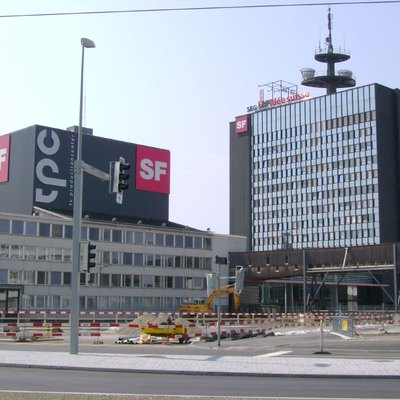 Build complex of SF (Swiss Television)