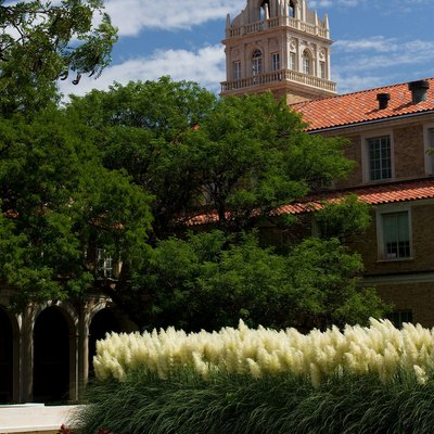Administration building at Texas Tech University in Lubbock, Texas.