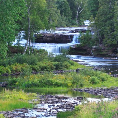 Lower Falls, Tahquamenon Falls State Park, Michigan