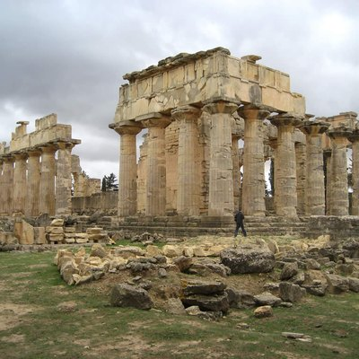 The Temple of Zeus at Cyrene, Libya.
