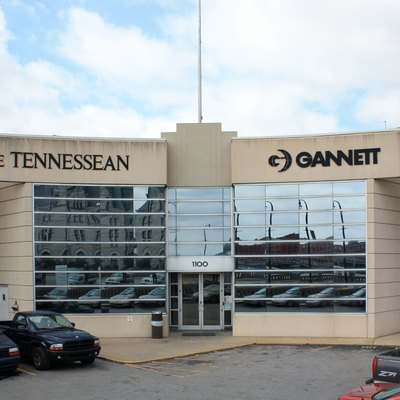 Office of The Tennessean newspaper in Nashville, Tennessee
